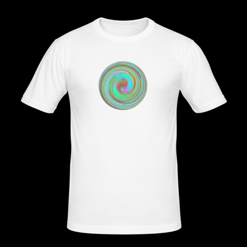 Illusion d'optique - T-shirt près du corps Homme