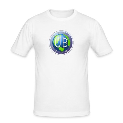 DropStore UB Logo - Slim Fit T-skjorte for menn