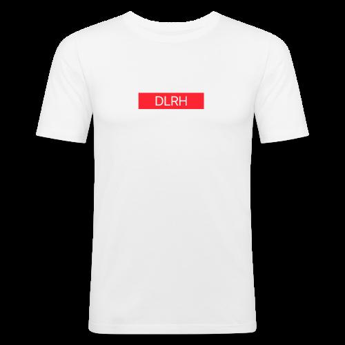 DLRH Boxlogo - Männer Slim Fit T-Shirt