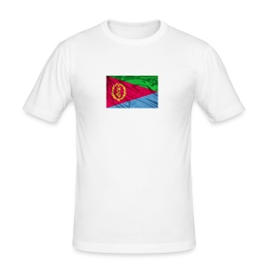 Eritrea Flag - Männer Slim Fit T-Shirt