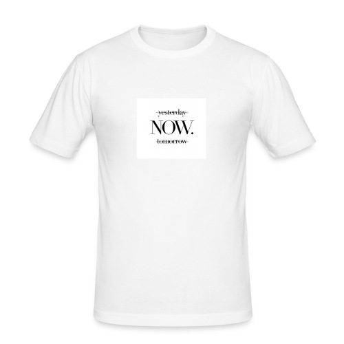 NOW. - Männer Slim Fit T-Shirt