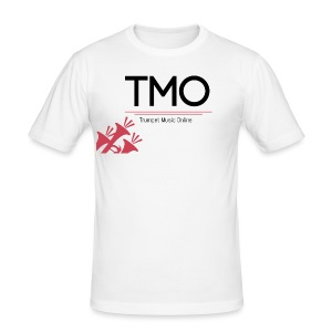 TMO Logo - Men's Slim Fit T-Shirt