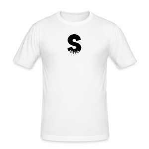 S stands for Serbia - Männer Slim Fit T-Shirt