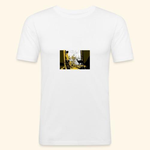 immagine cover - Maglietta aderente da uomo