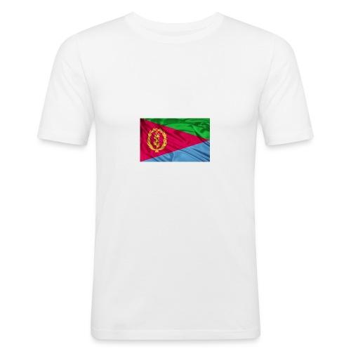 Eritrea Flag - Männer Slim Fit T-Shirt