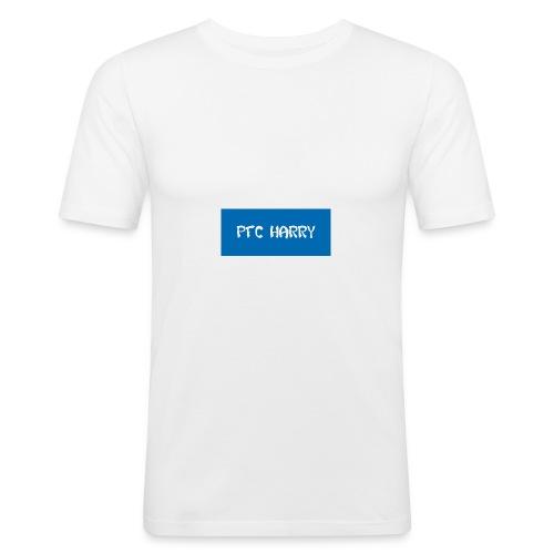 The box logo design - Men's Slim Fit T-Shirt
