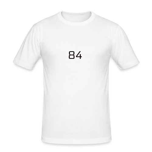 84 LOGO - Men's Slim Fit T-Shirt
