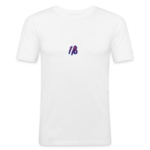 1/8 Birth Tee White - Men's Slim Fit T-Shirt