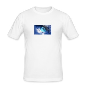 Der blau auge lets s player - Männer Slim Fit T-Shirt