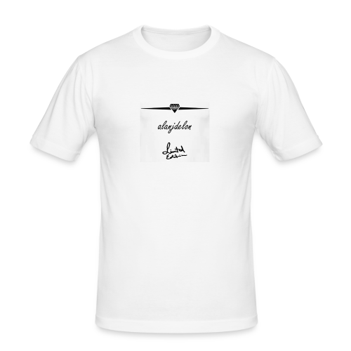 Alanjdelon - Männer Slim Fit T-Shirt