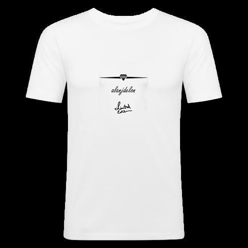 Alanjdelon - Männer Slim Fit T-Shirt