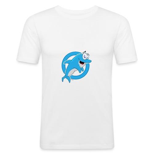 Dolphie - Men's Slim Fit T-Shirt
