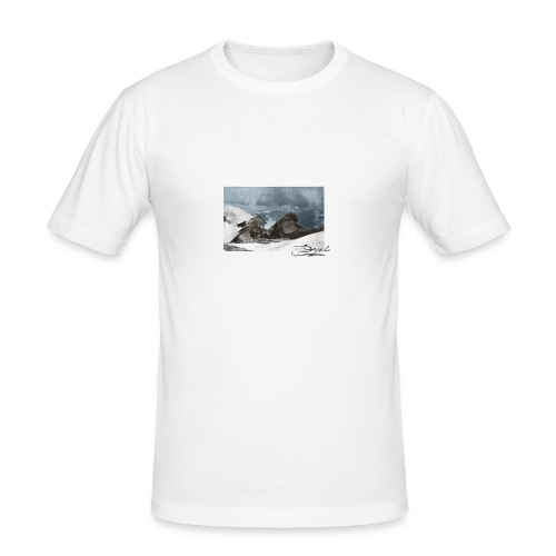 Mountains Colorized - Camiseta ajustada hombre
