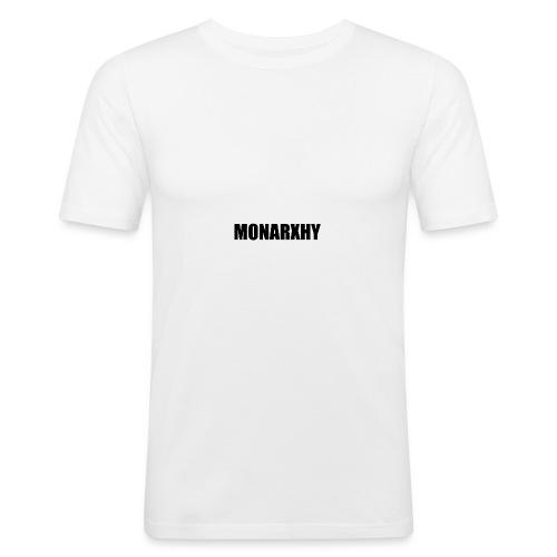 Monarchy Impact - Men's Slim Fit T-Shirt