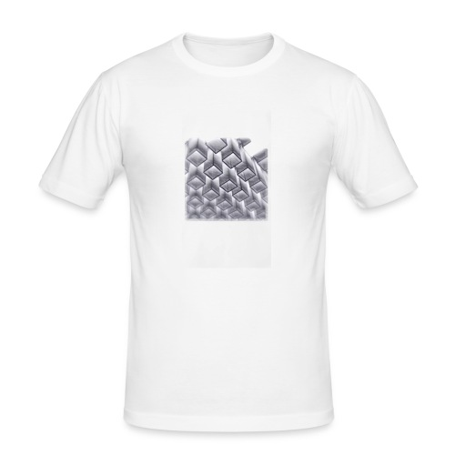 squares - Men's Slim Fit T-Shirt