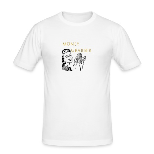 moneygrabber - Männer Slim Fit T-Shirt