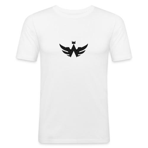 Logoshirt WorldCrime - Männer Slim Fit T-Shirt