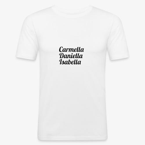 Carmella, Daniella, Isabella - Men's Slim Fit T-Shirt
