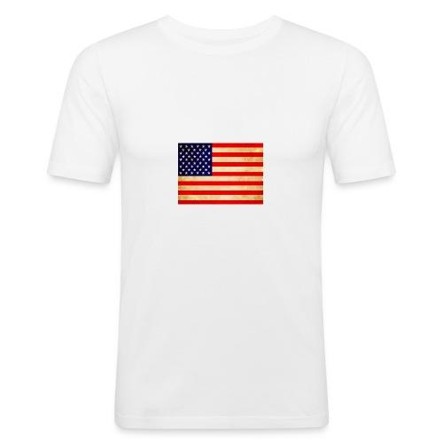 usa - Männer Slim Fit T-Shirt