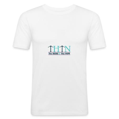 Small Logo THTN - Men's Slim Fit T-Shirt