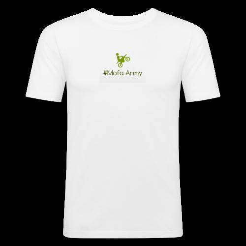 Mofa Army (Grün) - Männer Slim Fit T-Shirt