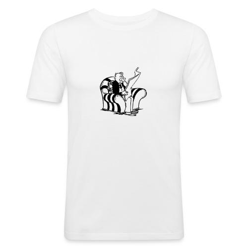 Lecteur - T-shirt près du corps Homme