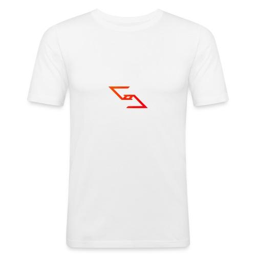 Logo et paterne de la marque. - T-shirt près du corps Homme