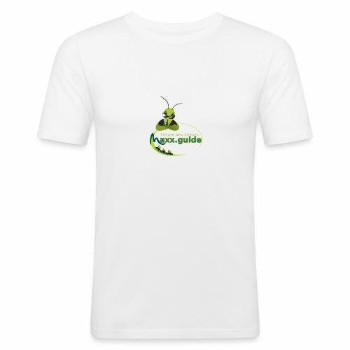 Freizeit.Neu.Erleben mit maxx.guide! - Männer Slim Fit T-Shirt