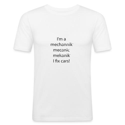 I fix Cars - slim fit T-shirt