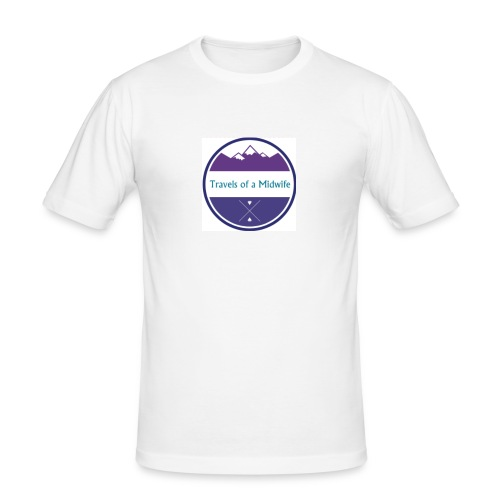 Women's Tee centre logo - Men's Slim Fit T-Shirt