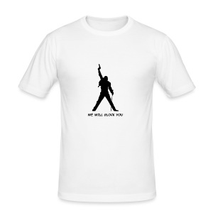 WE WILL GLOCK YOU - Männer Slim Fit T-Shirt