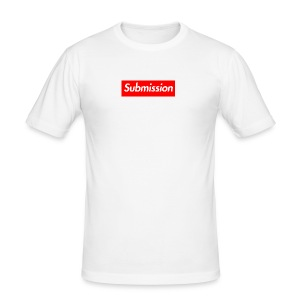 Submission Box Logo - Men's Slim Fit T-Shirt