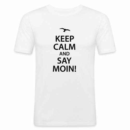 Say Moin - Männer Slim Fit T-Shirt