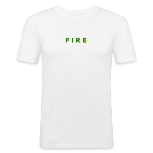 Fire - Herre Slim Fit T-Shirt