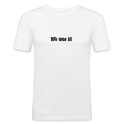 90 s was lit - Tee shirt près du corps Homme