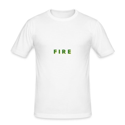 Fire - Herre Slim Fit T-Shirt