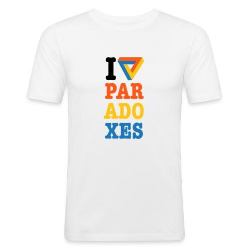 I love paradoxes - Men's Slim Fit T-Shirt