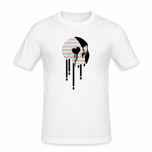 Skeleton - Slim Fit T-skjorte for menn