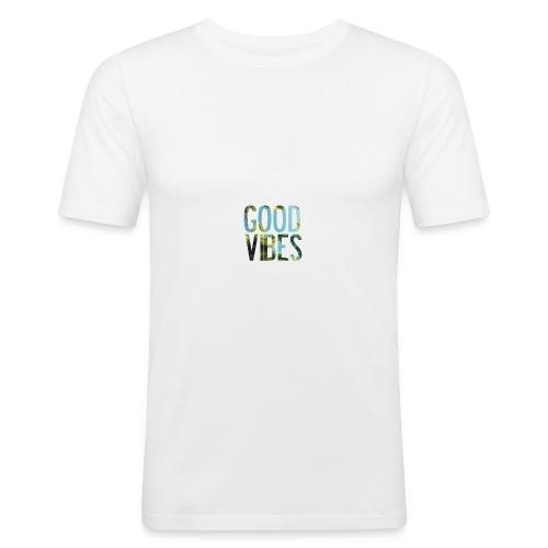 Good Vibes - Men's Slim Fit T-Shirt