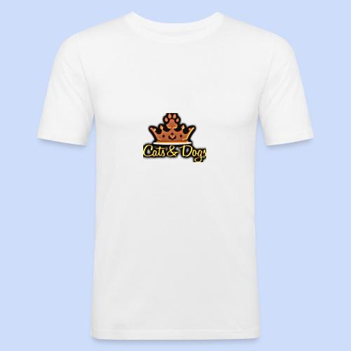 Official Cats&Dogs - Men's Slim Fit T-Shirt