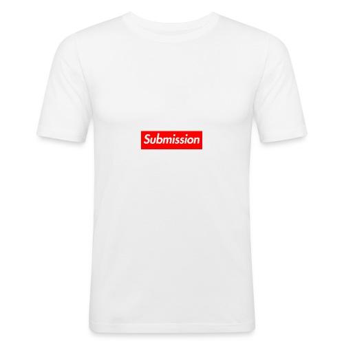Submission Box Logo - Men's Slim Fit T-Shirt