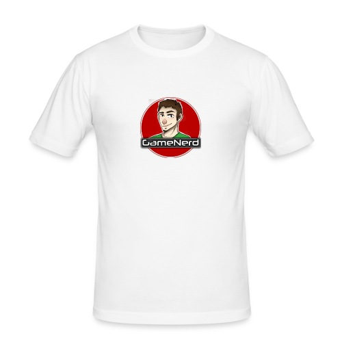 GameNerd Logo - Slim Fit T-shirt herr