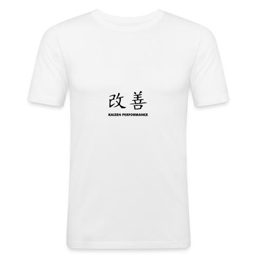 Kaizen Performance Basic Tee - Men's Slim Fit T-Shirt