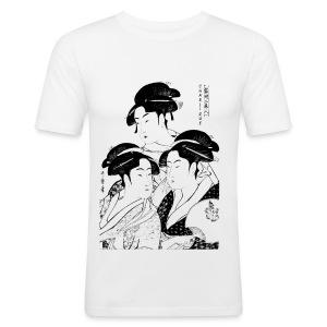 Charlique - Men's Slim Fit T-Shirt
