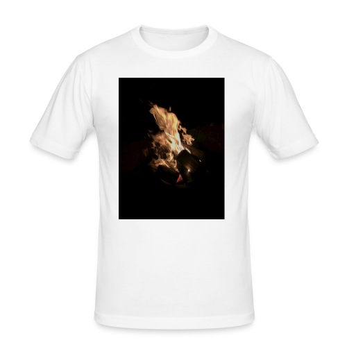 Bonfire Print - Men's Slim Fit T-Shirt