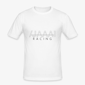 Jahaa racing logo - Slim Fit T-skjorte for menn
