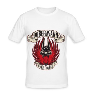 Dobermann Pure B - Men's Slim Fit T-Shirt