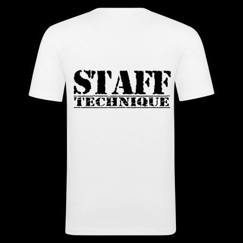 staff tech - T-shirt près du corps Homme