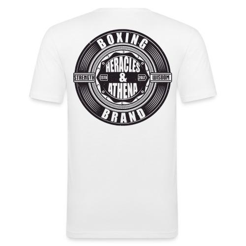 Heracles and Athena Emblem - Männer Slim Fit T-Shirt
