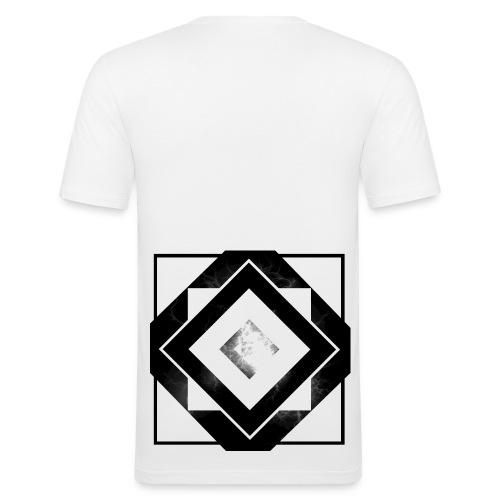 White Mist - Men's Slim Fit T-Shirt